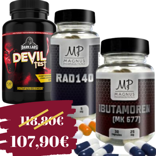 Rad140 + Ibutamoren + Devil test