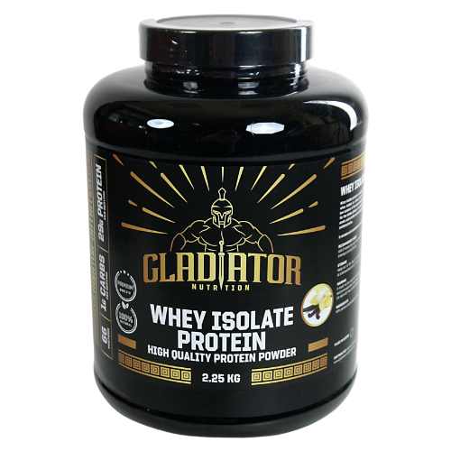 Gladiator nutrition - whey isolate protein