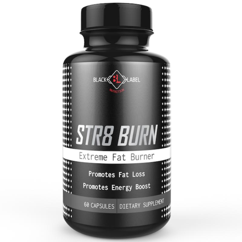 Black label -  Str8 Burn Extreme Fat Burner
