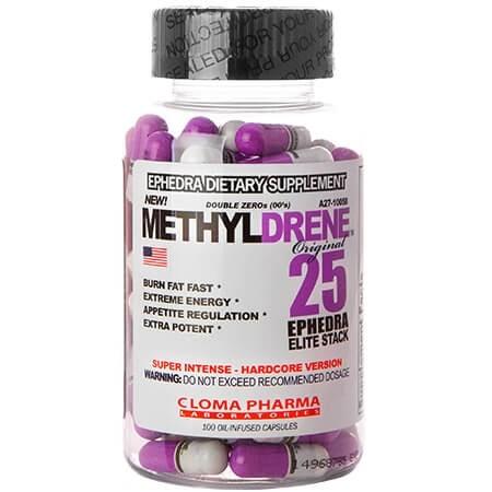 Cloma Pharma - Methyldrene 25 Elite Stack