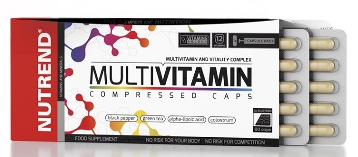 Nutrend  - Multivitamin Copressed caps