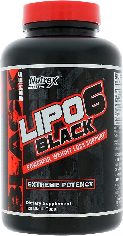 Nutrex - LIPO-6 Black