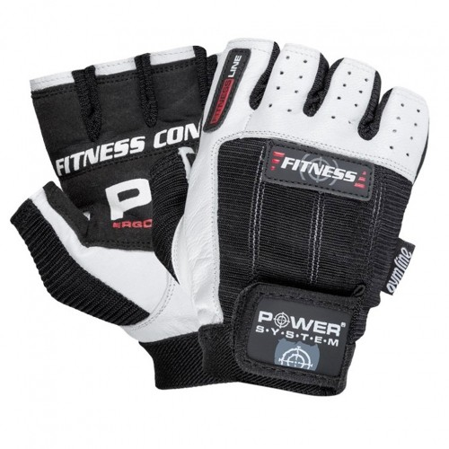 Power System rukavice PS-2300 bielo-čierne