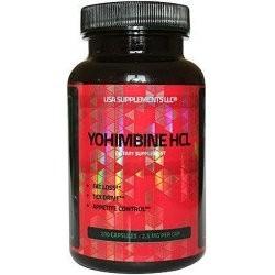 USA Supplements - Yohimbine