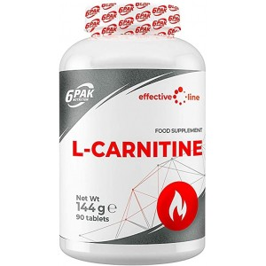6PAK EL L-Carnitine 1000mg