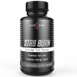 Black label -  Str8 Burn Extreme Fat Burner